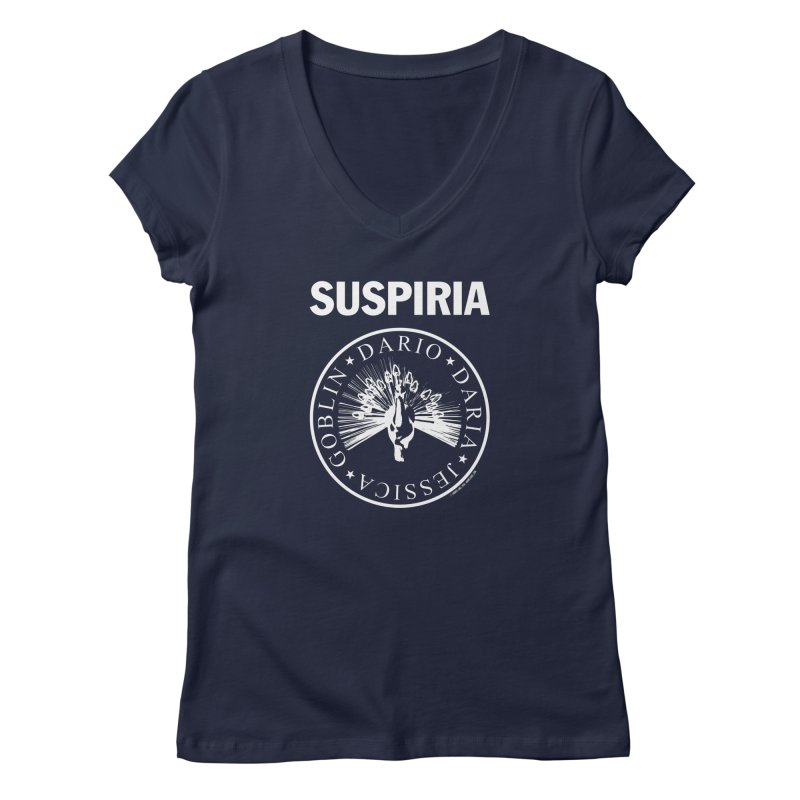 Suspiria 1977 Women's Regular V-Neck by ABELACLE