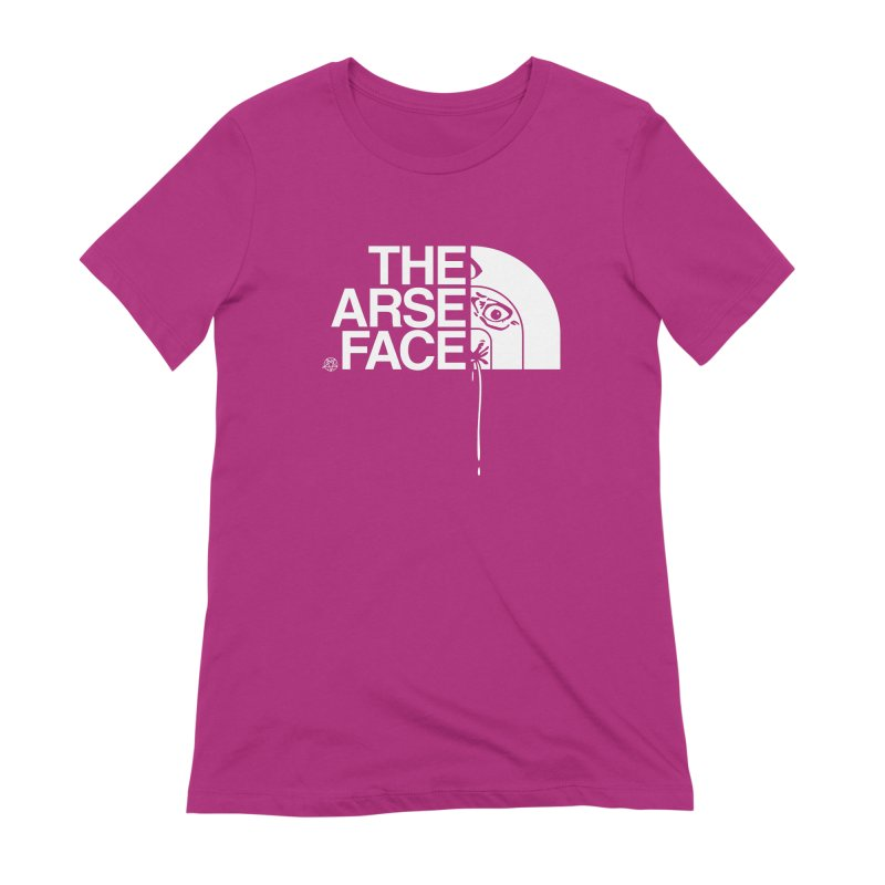 The Arse Face Women's Extra Soft T-Shirt by ABELACLE