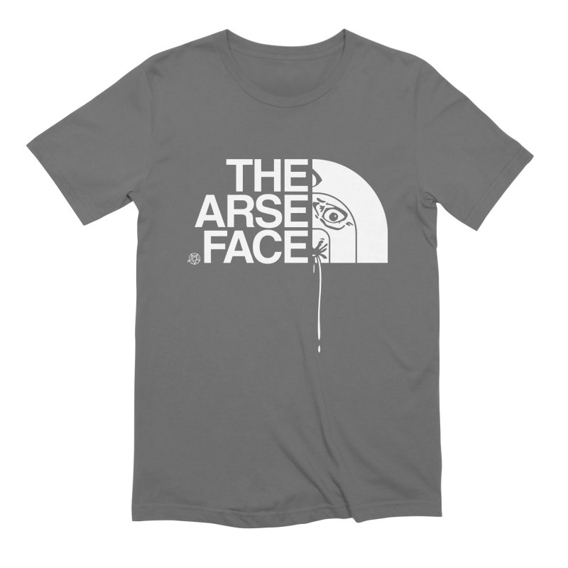 The Arse Face Men's T-Shirt by ABELACLE.