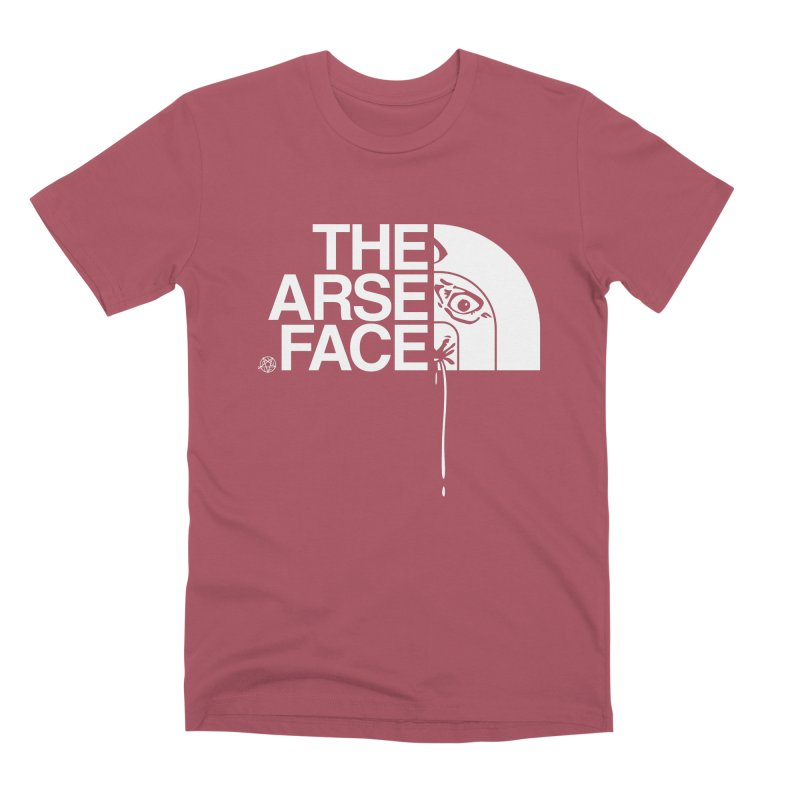 The Arse Face Men's Premium T-Shirt by ABELACLE
