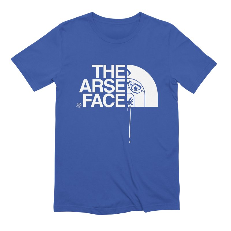 The Arse Face Men's Extra Soft T-Shirt by ABELACLE