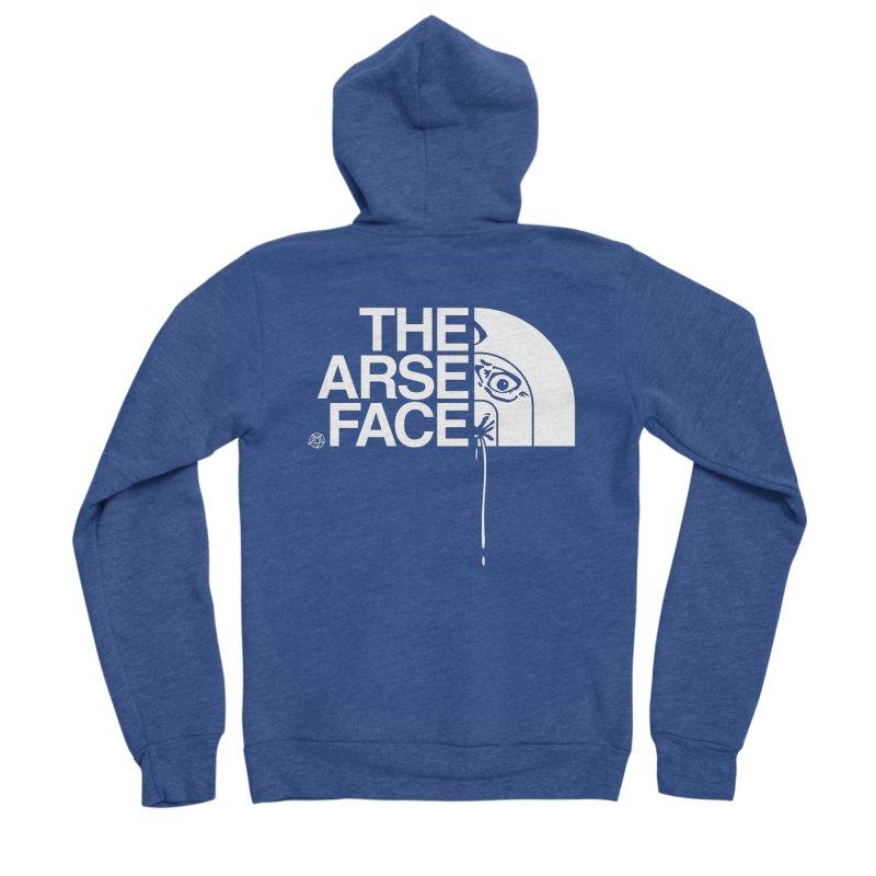 The Arse Face Women's Sponge Fleece Zip-Up Hoody by ABELACLE