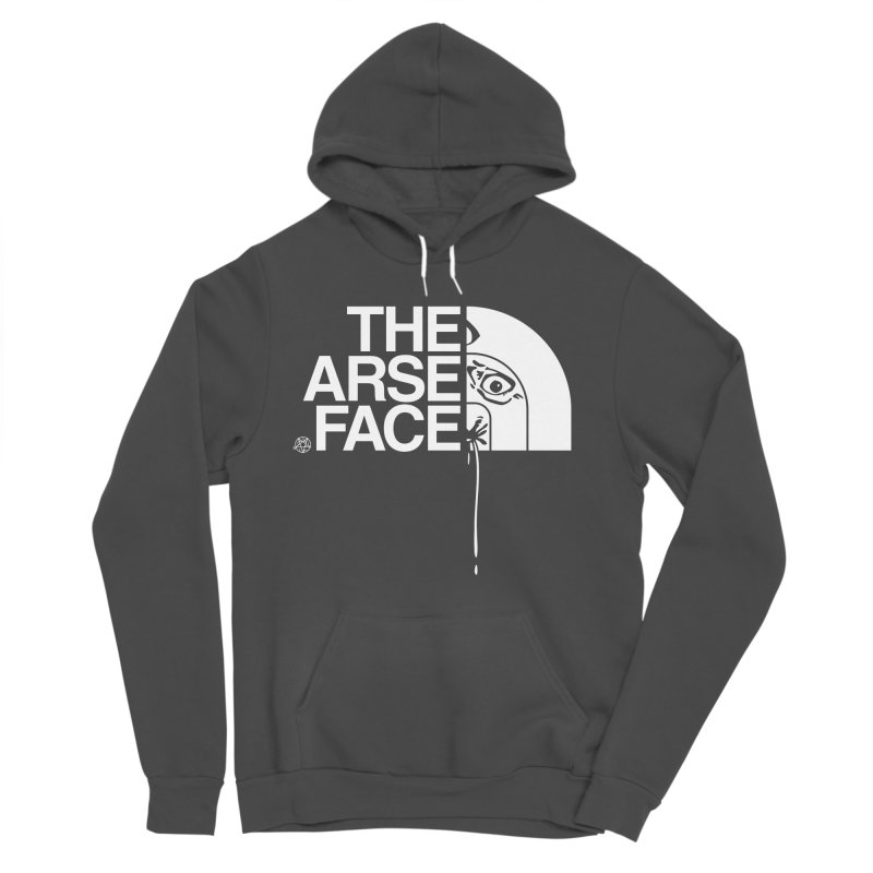 The Arse Face Men's Sponge Fleece Pullover Hoody by ABELACLE