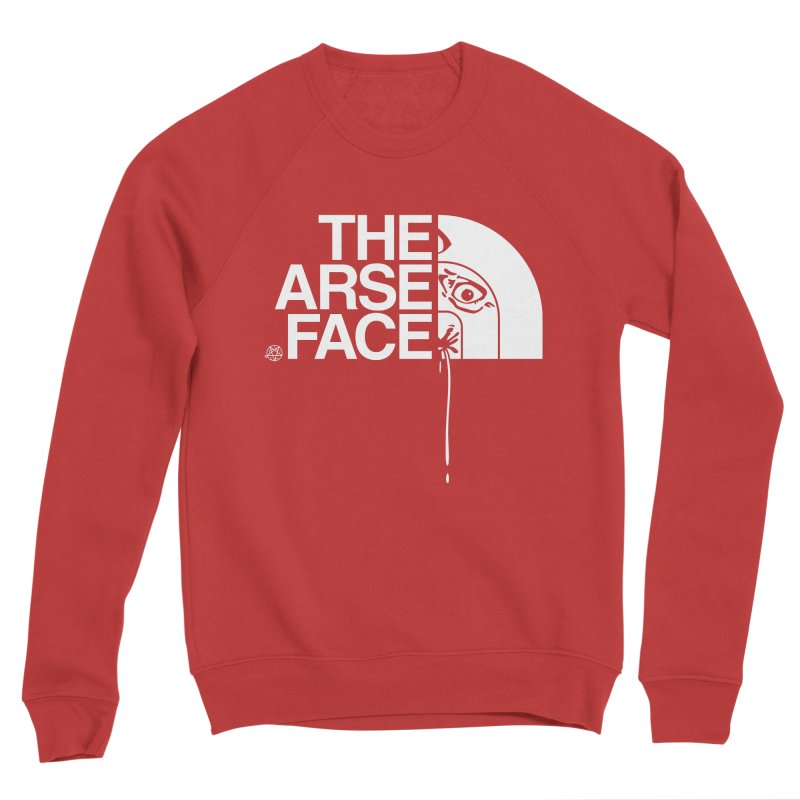 The Arse Face Women's Sponge Fleece Sweatshirt by ABELACLE