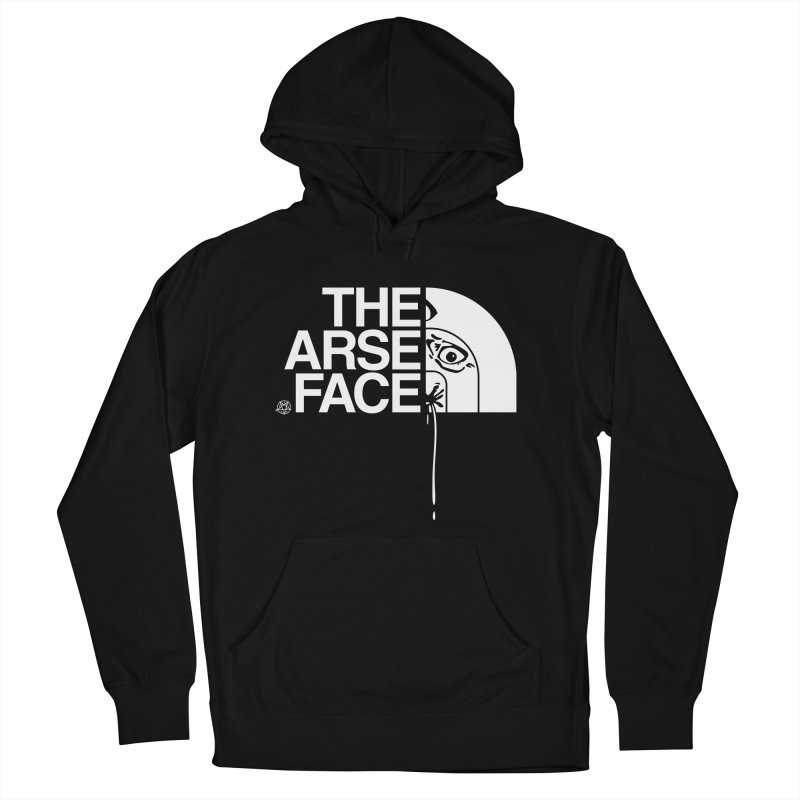 The Arse Face Women's French Terry Pullover Hoody by ABELACLE