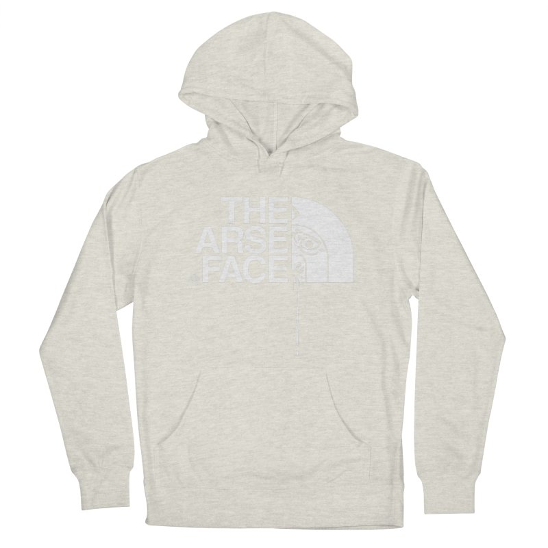 The Arse Face Men's French Terry Pullover Hoody by ABELACLE