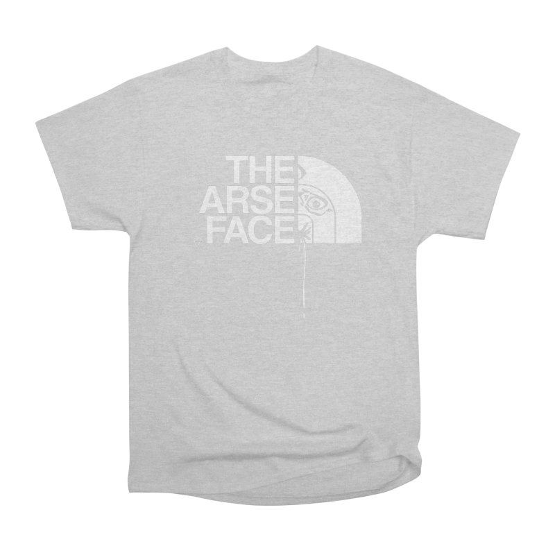 The Arse Face Women's Heavyweight Unisex T-Shirt by ABELACLE