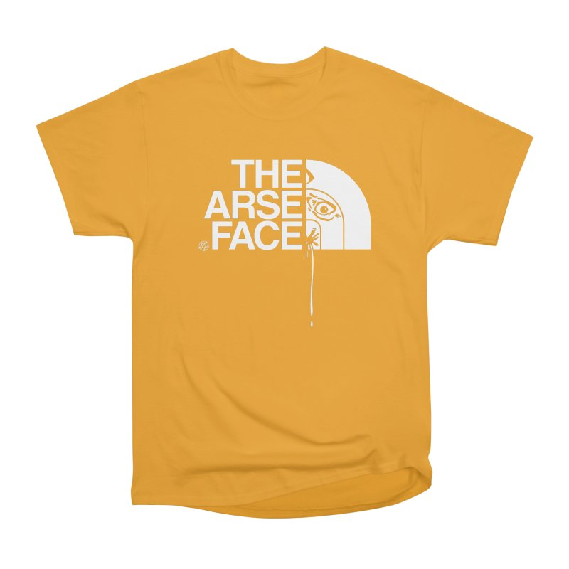 The Arse Face Men's Heavyweight T-Shirt by ABELACLE