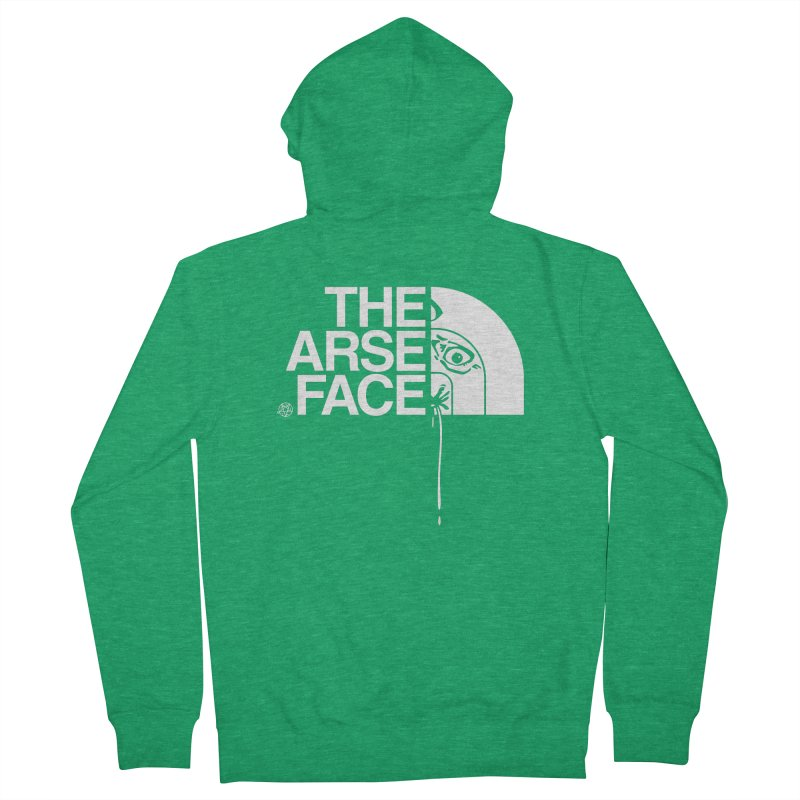 The Arse Face Women's Zip-Up Hoody by ABELACLE.