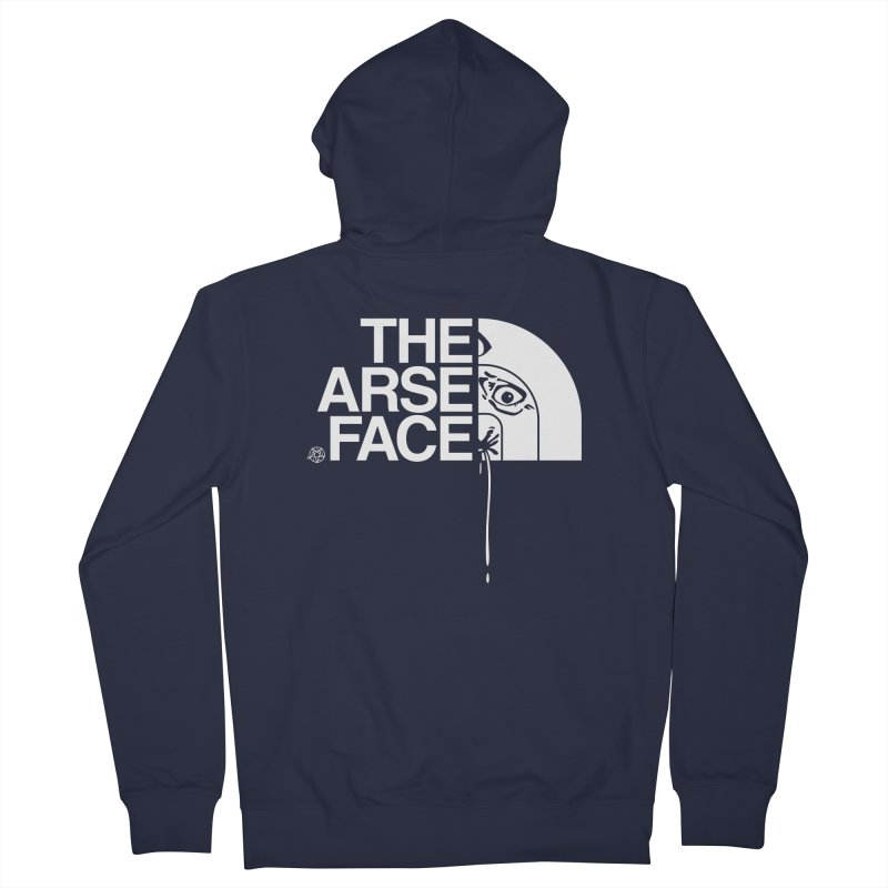 The Arse Face Women's French Terry Zip-Up Hoody by ABELACLE