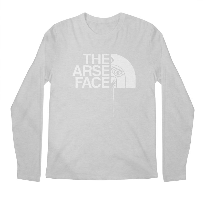 The Arse Face Men's Regular Longsleeve T-Shirt by ABELACLE