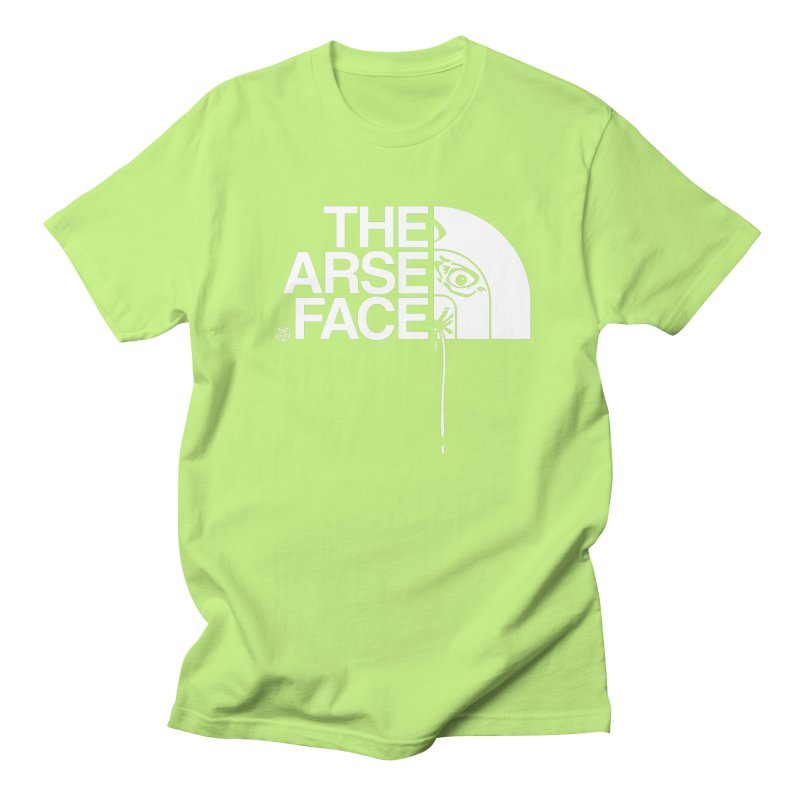 The Arse Face Women's Regular Unisex T-Shirt by ABELACLE