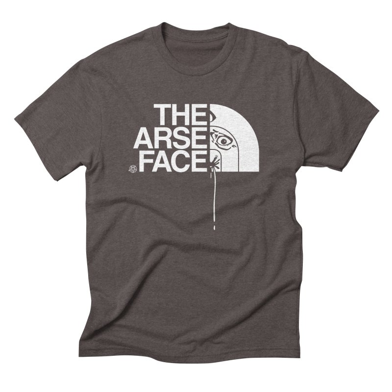 The Arse Face Men's Triblend T-Shirt by ABELACLE