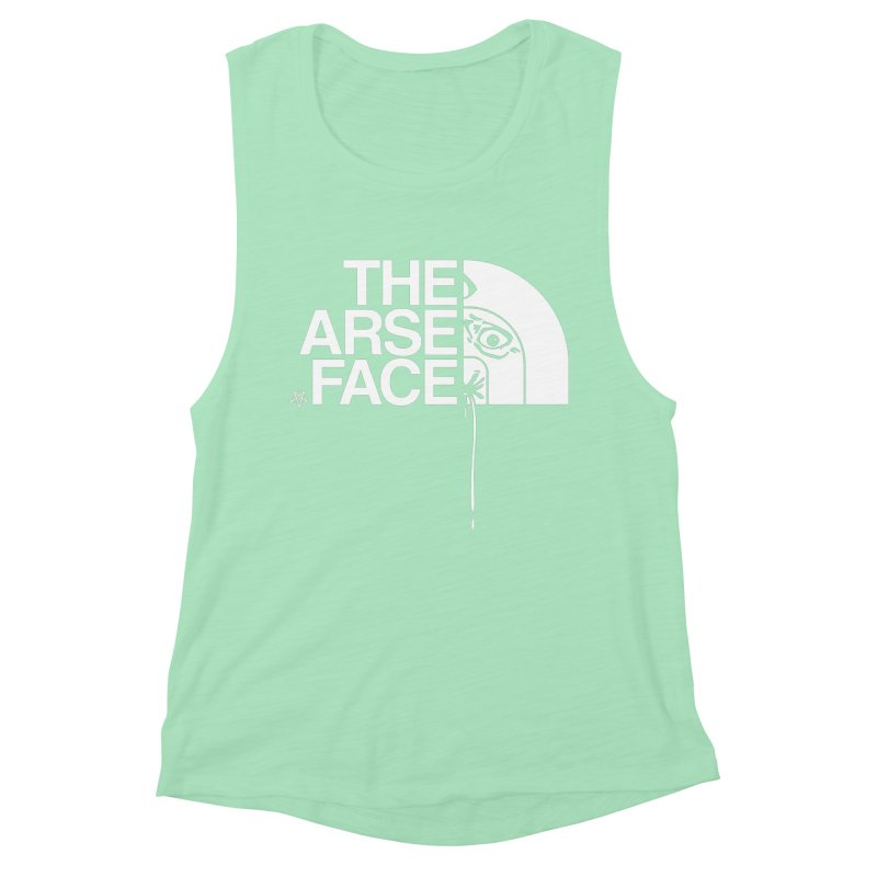 The Arse Face Women's Muscle Tank by ABELACLE
