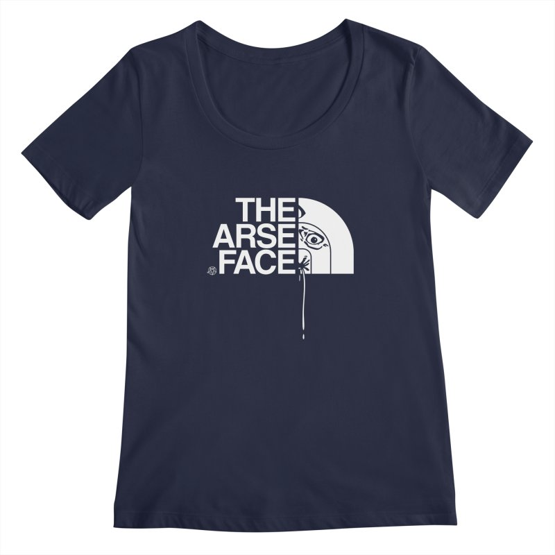 The Arse Face Women's Regular Scoop Neck by ABELACLE