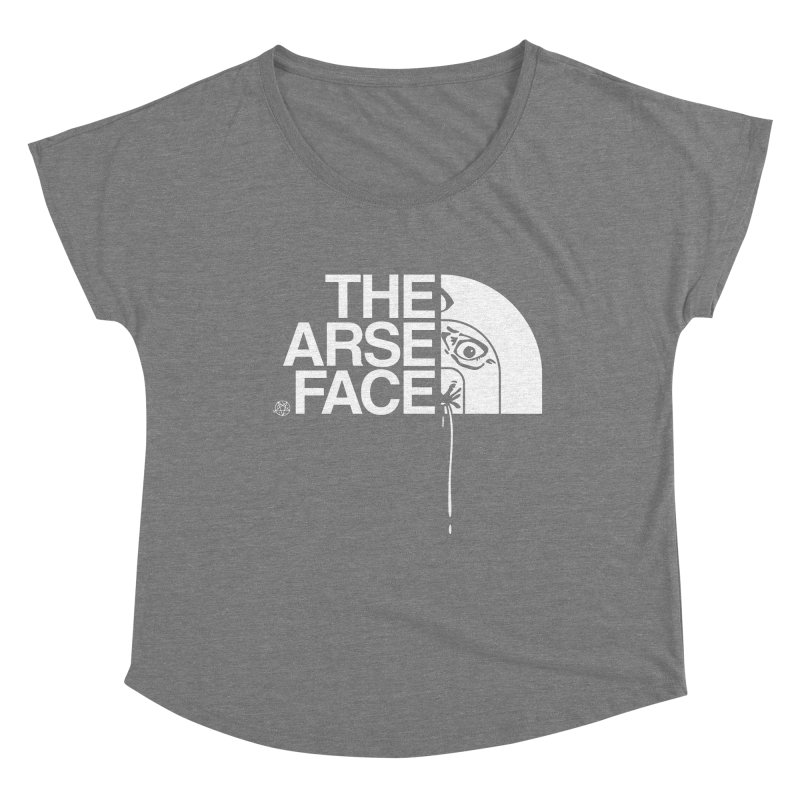The Arse Face Women's Scoop Neck by ABELACLE.