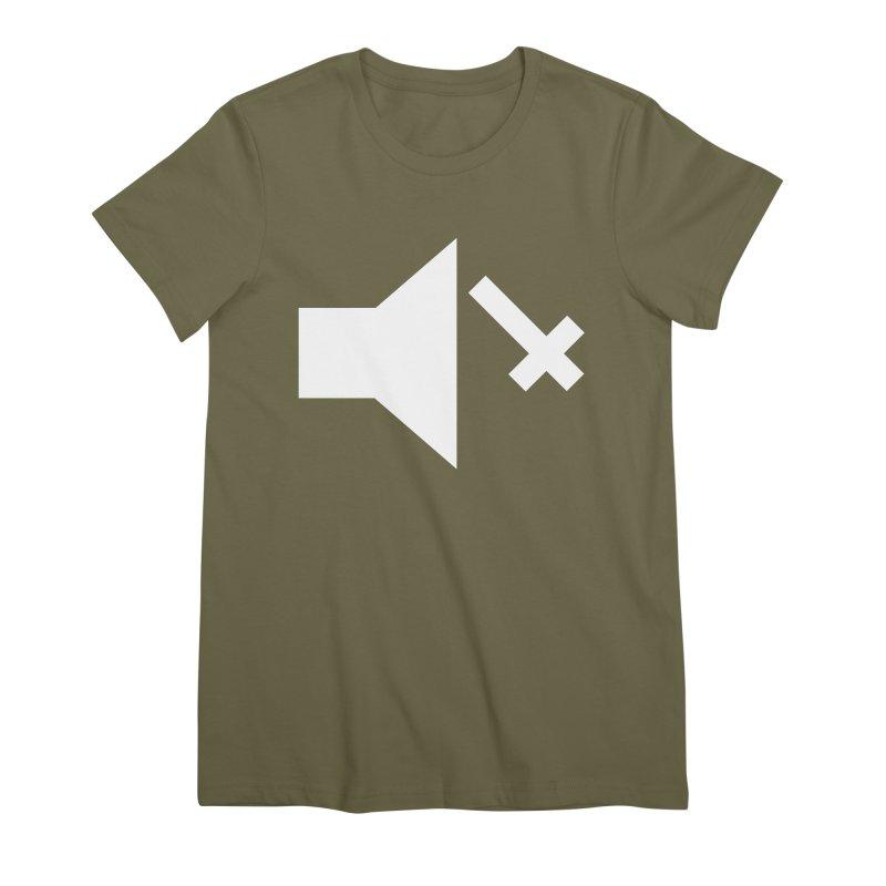 Mute Metal Women's Premium T-Shirt by ABELACLE