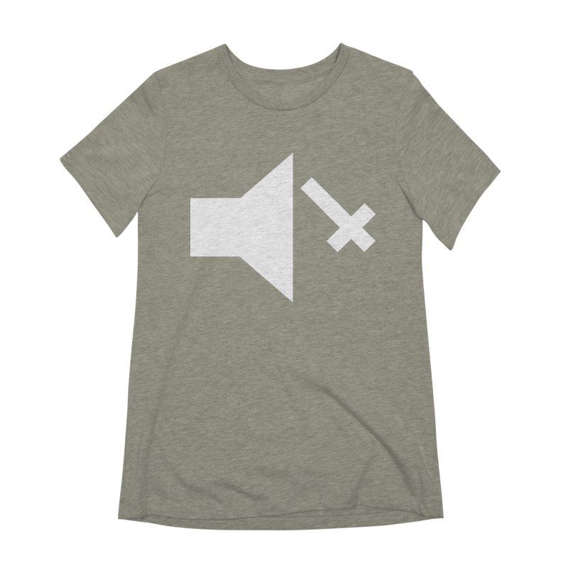 Mute Metal Women's Extra Soft T-Shirt by ABELACLE
