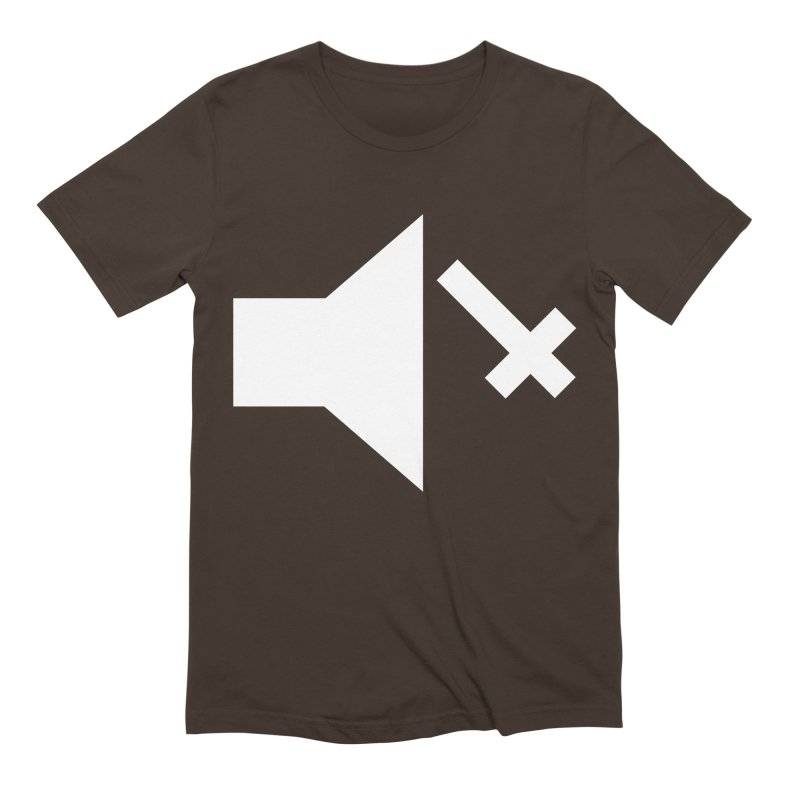 Mute Metal Men's Extra Soft T-Shirt by ABELACLE