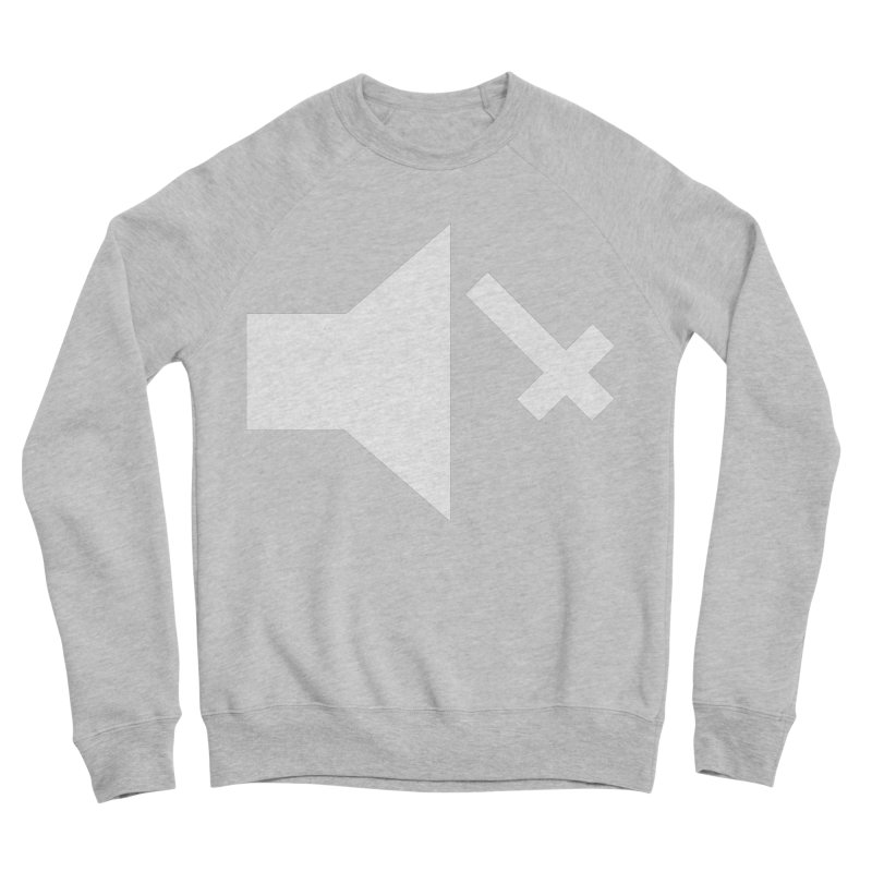 Mute Metal Women's Sponge Fleece Sweatshirt by ABELACLE