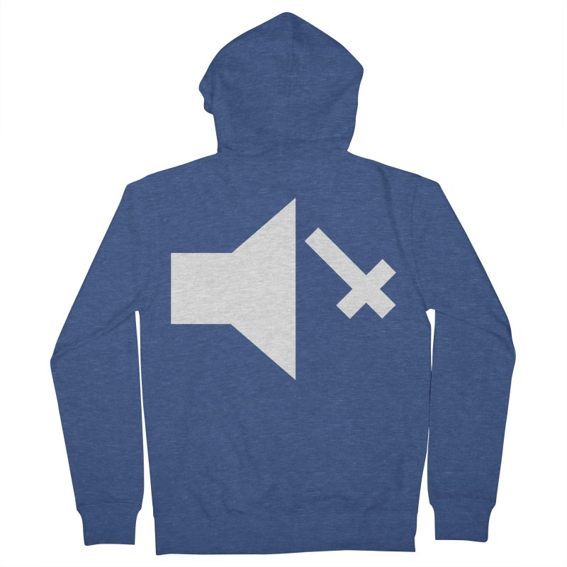 Mute Metal Men's French Terry Zip-Up Hoody by ABELACLE