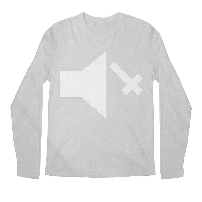 Mute Metal Men's Regular Longsleeve T-Shirt by ABELACLE