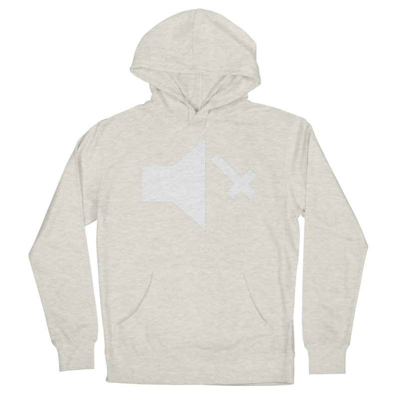 Mute Metal Men's French Terry Pullover Hoody by ABELACLE