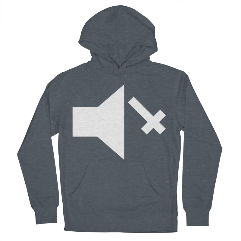 Mute Metal Women's French Terry Pullover Hoody by ABELACLE