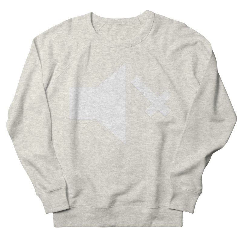 Mute Metal Women's French Terry Sweatshirt by ABELACLE