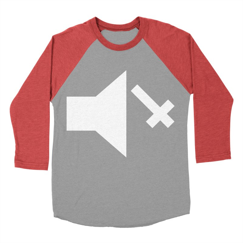 Mute Metal Women's Baseball Triblend Longsleeve T-Shirt by ABELACLE