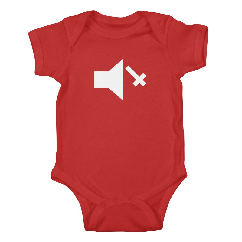 Mute Metal Kids Baby Bodysuit by ABELACLE