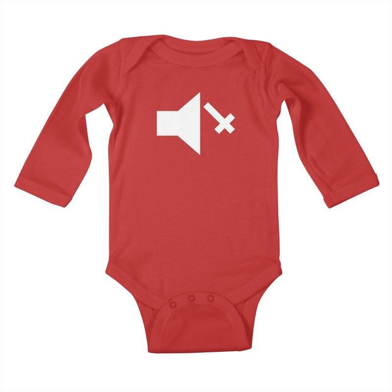 Mute Metal Kids Baby Longsleeve Bodysuit by ABELACLE