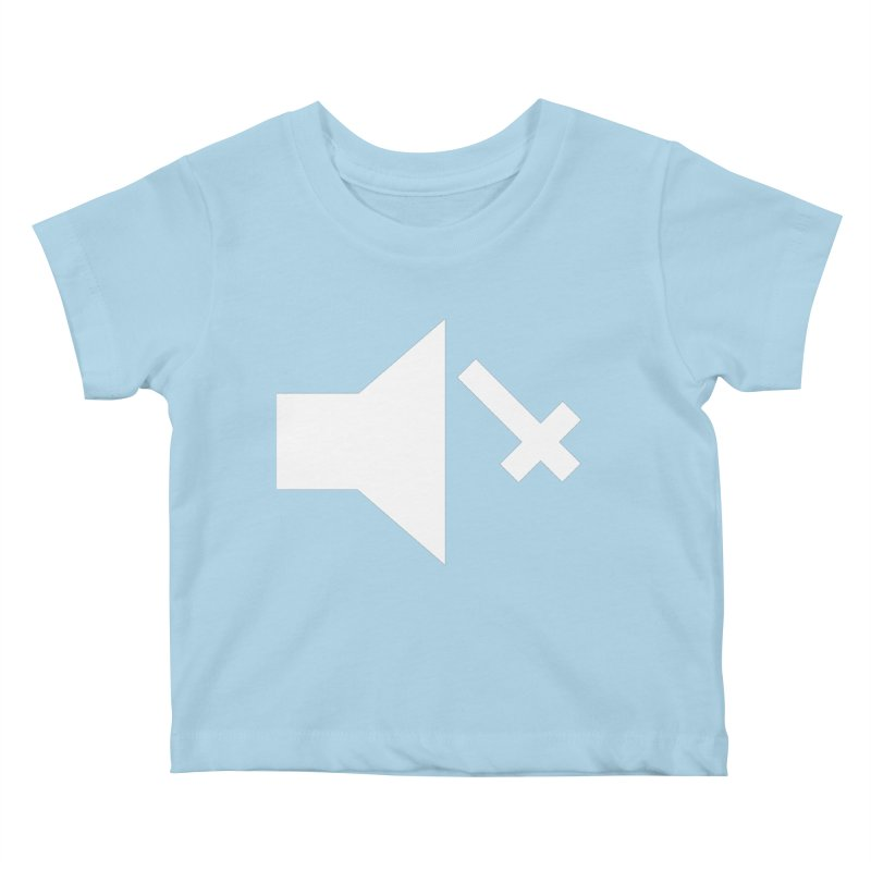 Mute Metal Kids Baby T-Shirt by ABELACLE