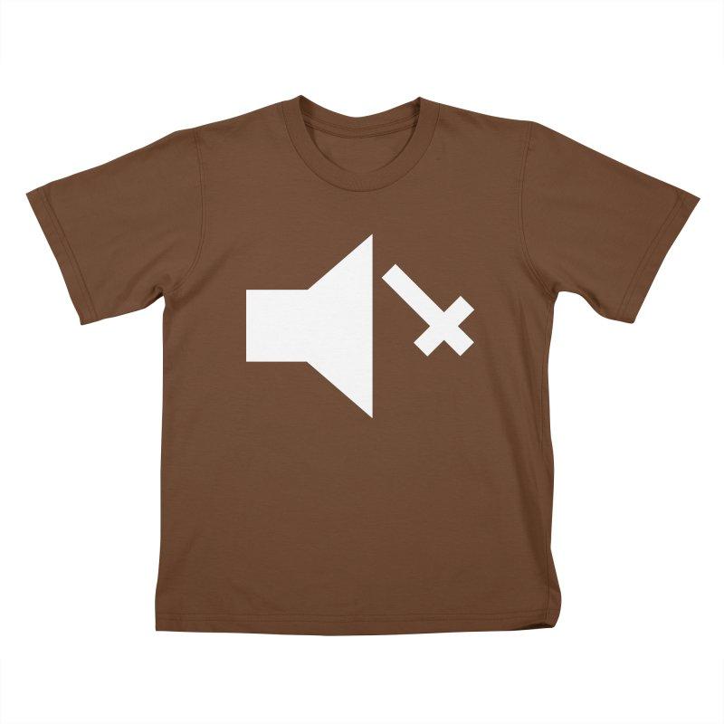Mute Metal Kids T-Shirt by ABELACLE