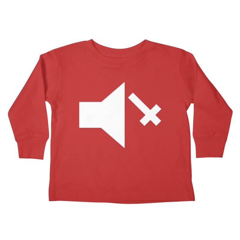 Mute Metal Kids Toddler Longsleeve T-Shirt by ABELACLE