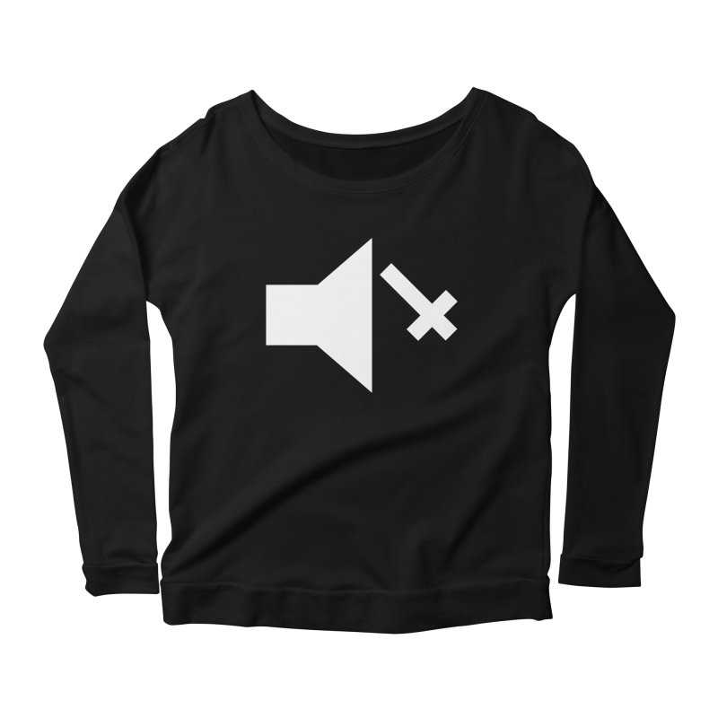 Mute Metal Women's Scoop Neck Longsleeve T-Shirt by ABELACLE