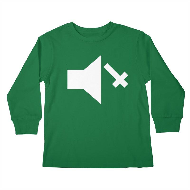 Mute Metal Kids Longsleeve T-Shirt by ABELACLE