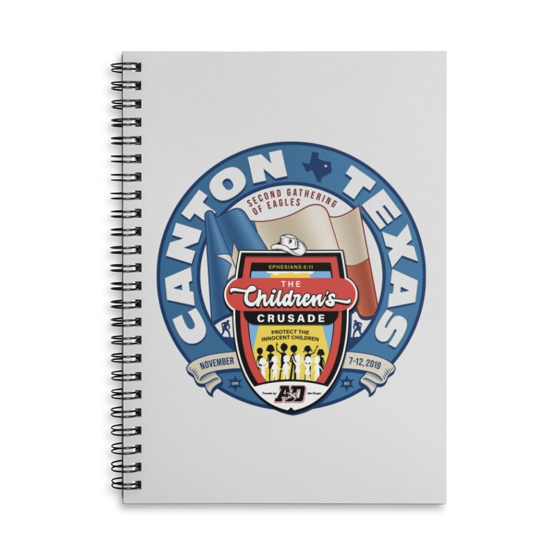TCC Second Gathering of Eagles In Canton, TX Accessories Lined Spiral Notebook by Abel Danger Artist Shop