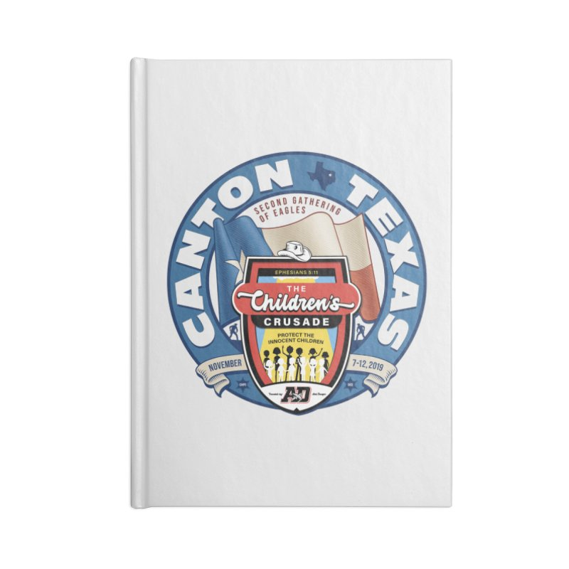 TCC Second Gathering of Eagles In Canton, TX Accessories Blank Journal Notebook by Abel Danger Artist Shop