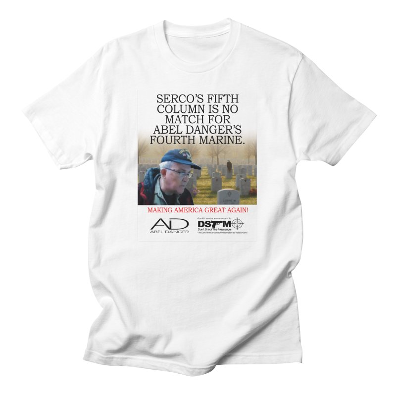Field McConnell Marine Men's T-Shirt by Abel Danger Artist Shop
