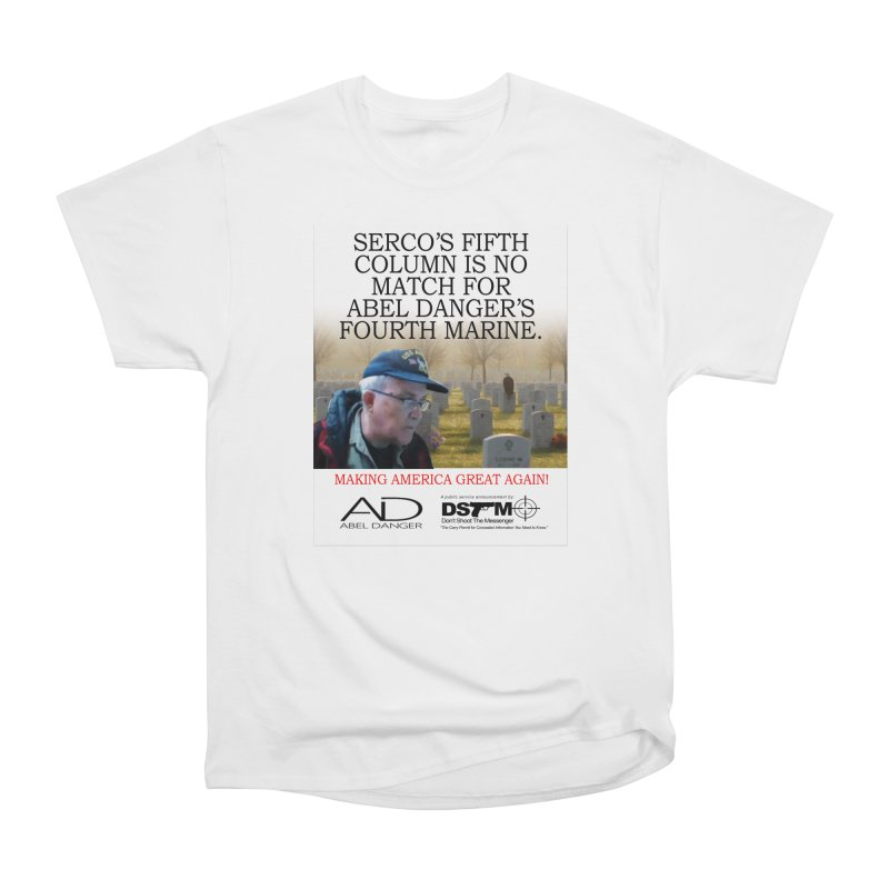 Field McConnell Marine Women's Heavyweight Unisex T-Shirt by Abel Danger Artist Shop