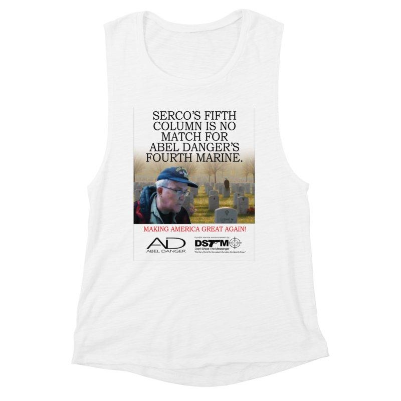 Field McConnell Marine Women's Muscle Tank by Abel Danger Artist Shop
