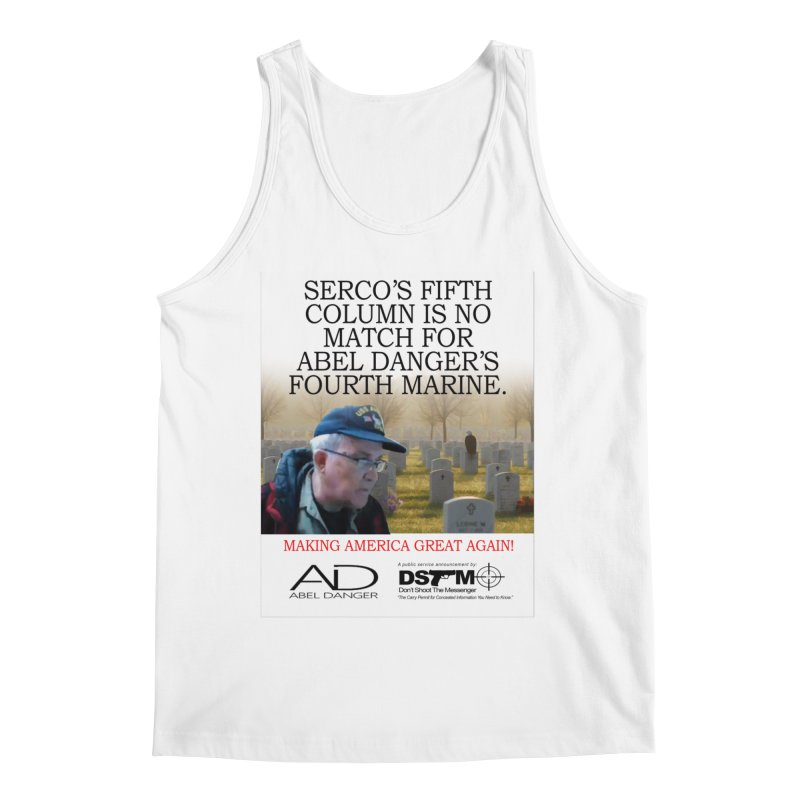 Field McConnell Marine Men's Regular Tank by Abel Danger Artist Shop