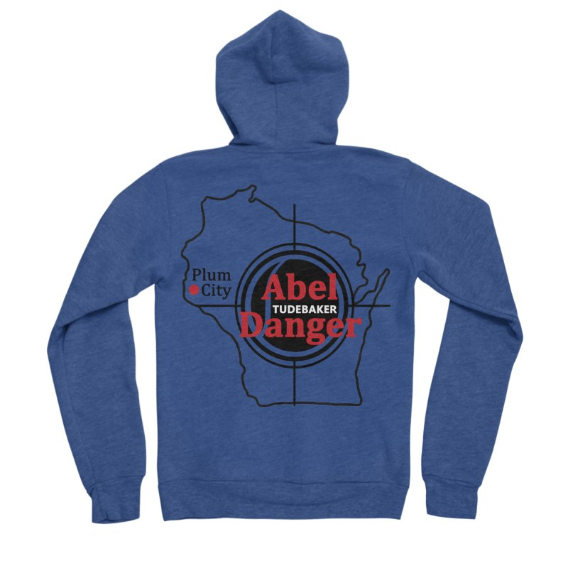 Abel Danger Logo Merchandise Men's Sponge Fleece Zip-Up Hoody by Abel Danger Artist Shop