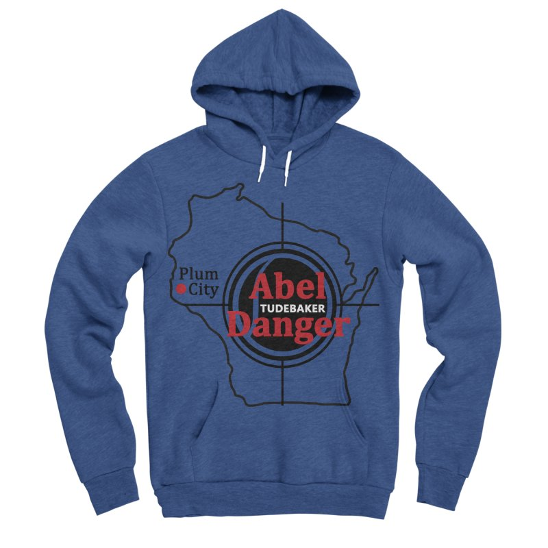 Abel Danger Logo Merchandise Men's Sponge Fleece Pullover Hoody by Abel Danger Artist Shop