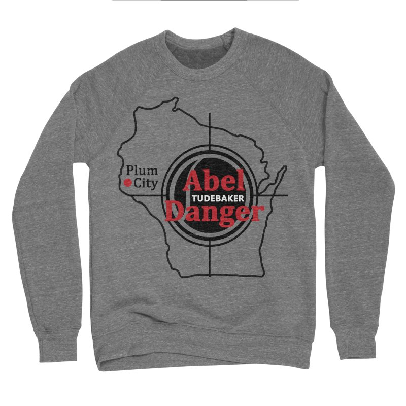 Abel Danger Logo Merchandise Men's Sponge Fleece Sweatshirt by Abel Danger Artist Shop