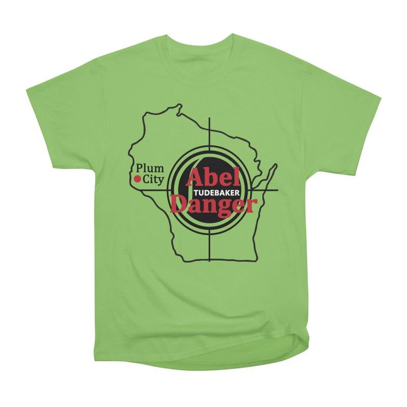 Abel Danger Logo Merchandise Women's Heavyweight Unisex T-Shirt by Abel Danger Artist Shop