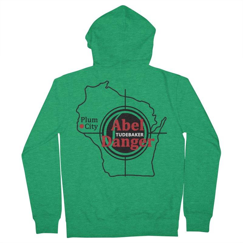 Abel Danger Logo Merchandise Women's French Terry Zip-Up Hoody by Abel Danger Artist Shop