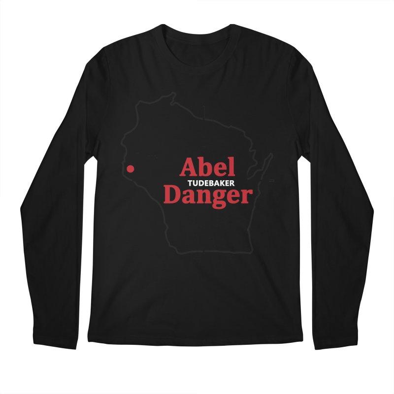 Abel Danger Logo Merchandise Men's Regular Longsleeve T-Shirt by Abel Danger Artist Shop