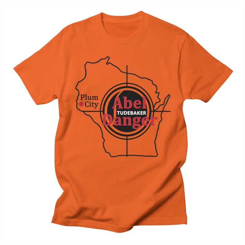 Abel Danger Logo Merchandise Men's Regular T-Shirt by Abel Danger Artist Shop